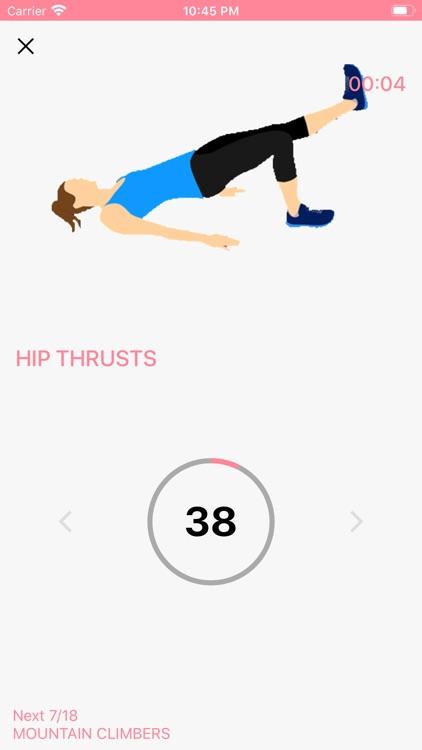 Female Fitness - Butt Workouts screenshot-6