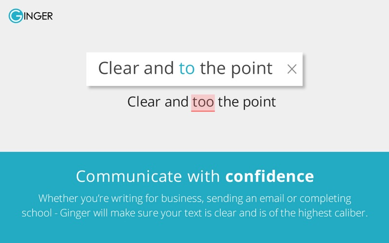 Grammar Checker - Ginger Screenshot
