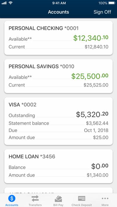 University Credit Union screenshot two
