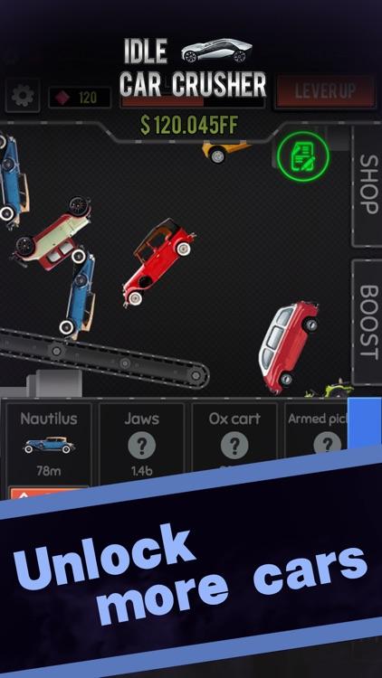 Idle Car Crusher screenshot-4