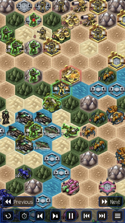 UniWar: Multiplayer Strategy screenshot-5