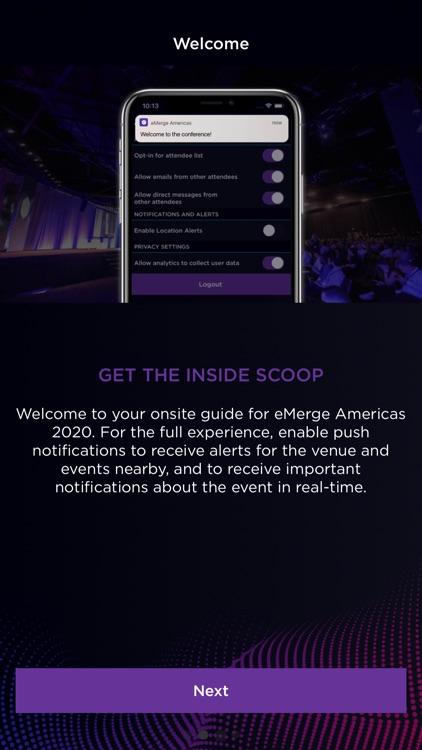 eMerge Americas 2020 screenshot-5