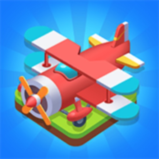 Merge Plane - Best Idle Game icon