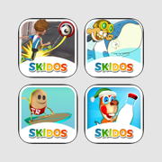 SKIDOS Endless Runner Fun Math Games. For ages 5,6,7,8,9,10,11+ year old boys, girls