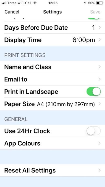 School Timetable screenshot-6