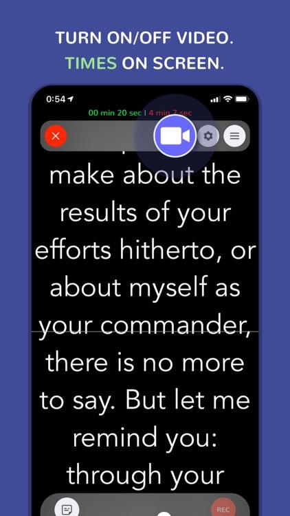 Teleprompter Pro · Prof Hornet screenshot-5