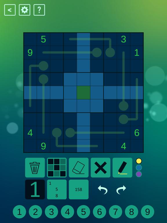 Thermo Sudoku screenshot 6