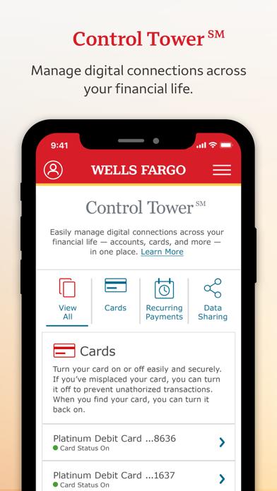 Wells Fargo Mobile review screenshots
