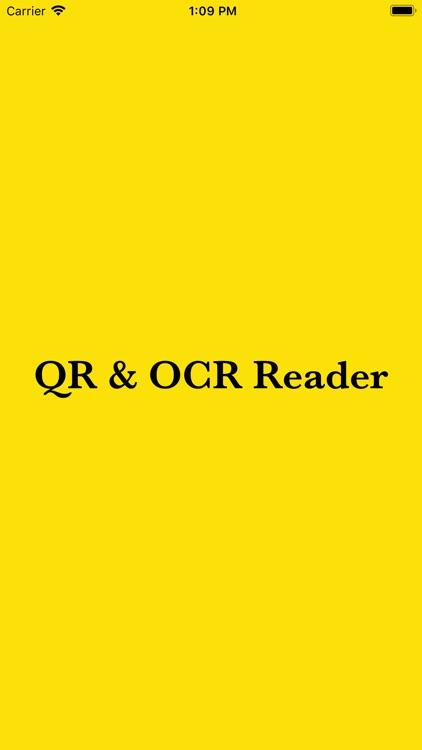 QR & OCR Code Reader by ROHIT PRAJAPATI