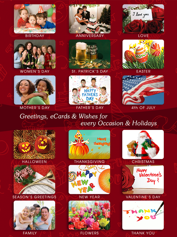 Greeting Cards & Wishes screenshot