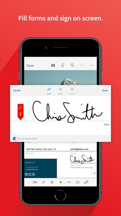 Adobe Acrobat Reader for PDF screenshot-4