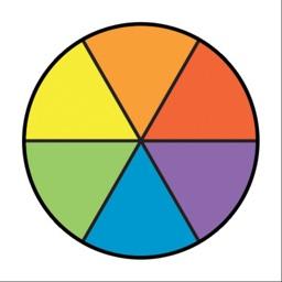 Color Wheel Paint