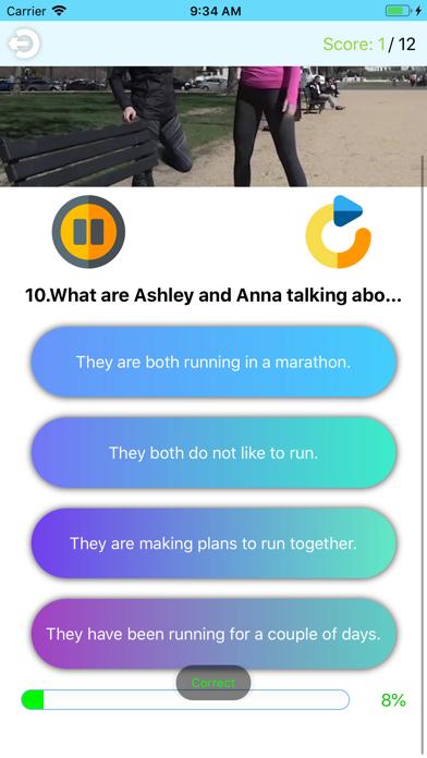 Video Quizzes-Listen N Answer screenshot #4