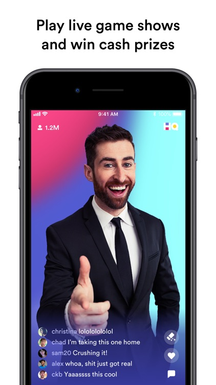 HQ - Trivia & Words screenshot-0