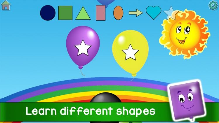 Kids Balloon Pop Language Game screenshot-5