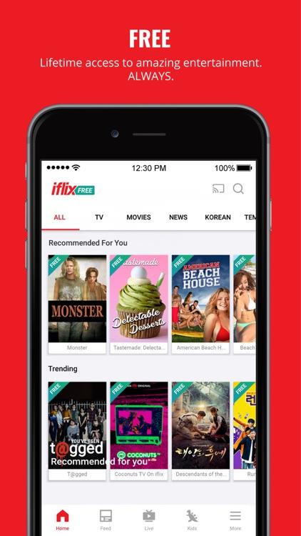 iflix: Movies, TV Series, News