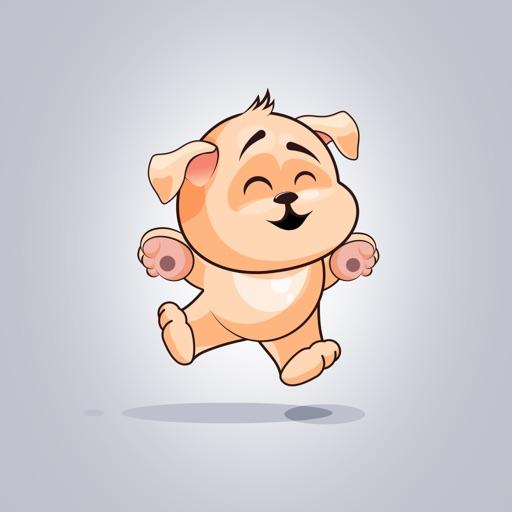 Adorable Dog Emoji Stickers