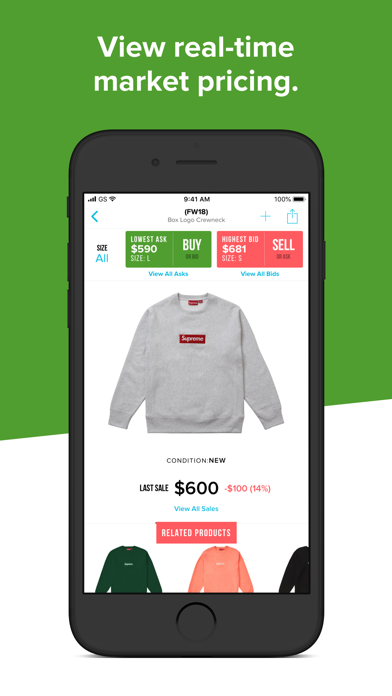 StockX - Buy & Sell Authentic by StockX LLC (iOS, United