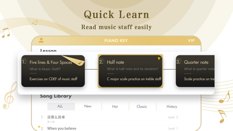 learn piano lessons - PNOKEY