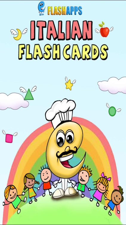 Italian Baby Flash Cards
