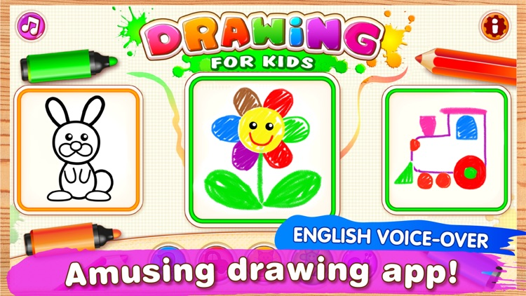 DRAWING FOR KIDS Games! Apps 2 screenshot-0