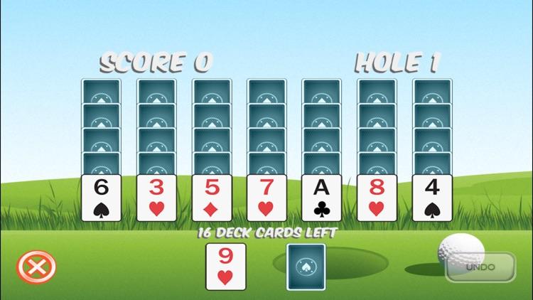Golf Solitaire Ultra screenshot-0