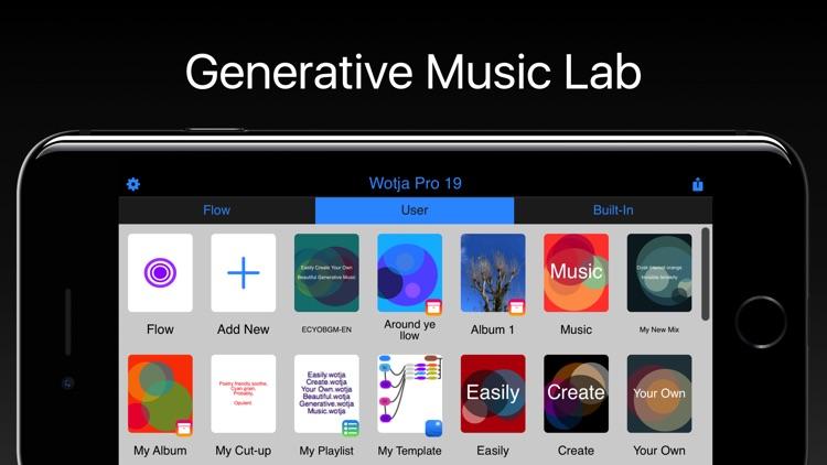 Wotja Pro 19: Generative Music screenshot-0