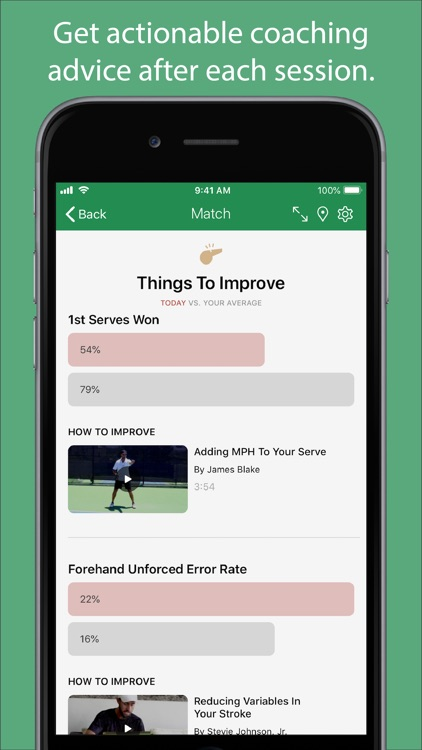 Swing - A.I. Tennis App screenshot-3