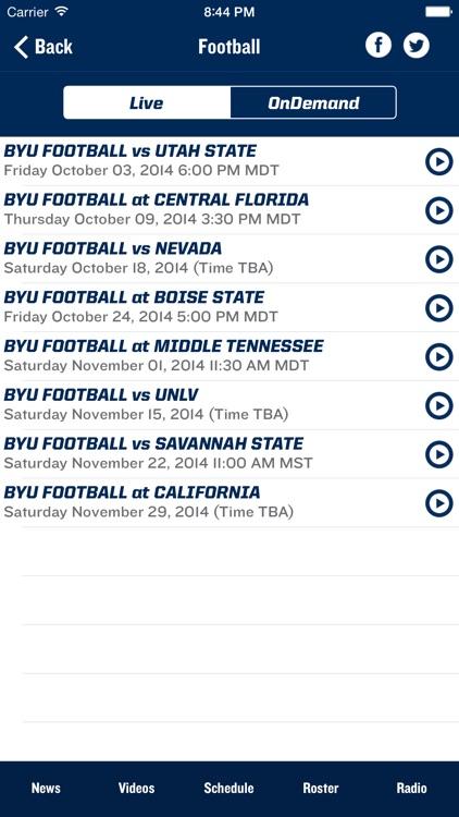 BYU Cougars screenshot-4