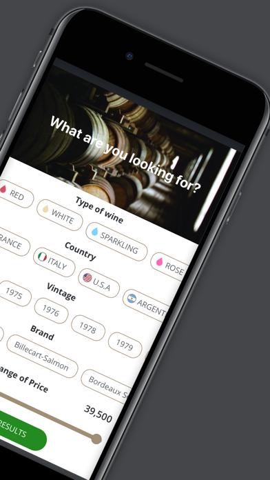 Virtual Wine Cellar screenshot two