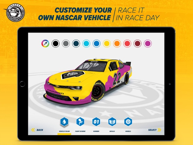 Customize Your Own Car Online >> Nascar Acceleration Nation On The App Store