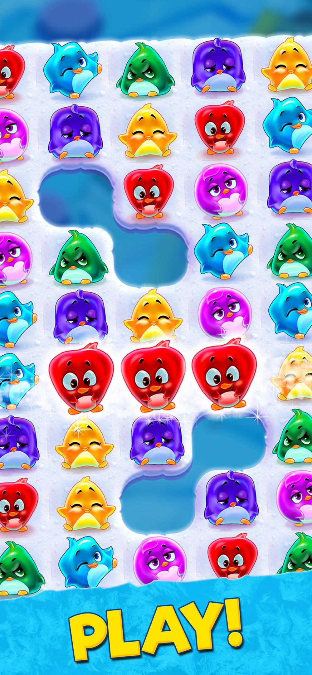 Penguin Swap: match 3 games Cheat Codes