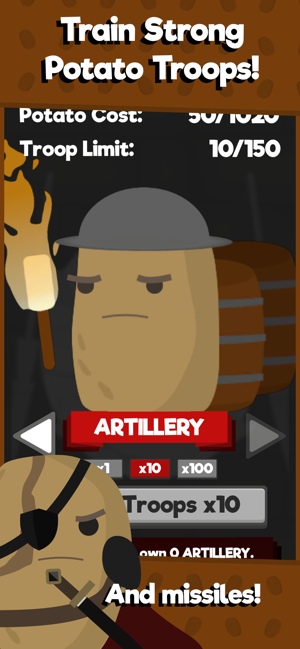 ‎DicTater | 4X Potato Strategy Screenshot