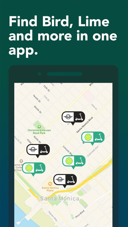Scooter Map - All the Scooters