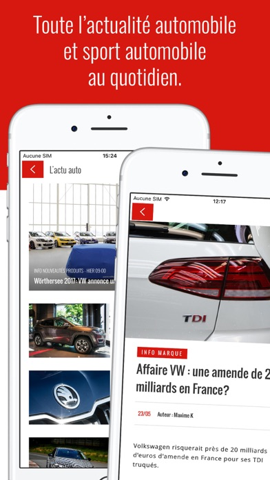 Screenshot #1 pour Auto Plus - Actus et essais