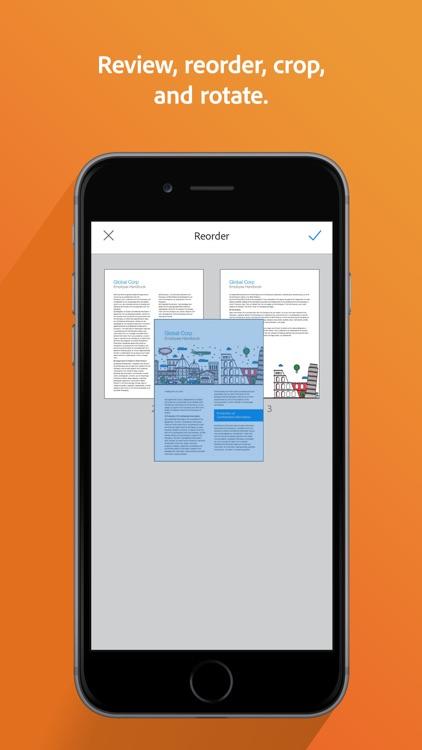 Adobe Scan: Doc Scanner to PDF screenshot-6