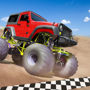 怪物 卡车 关 路 竞速