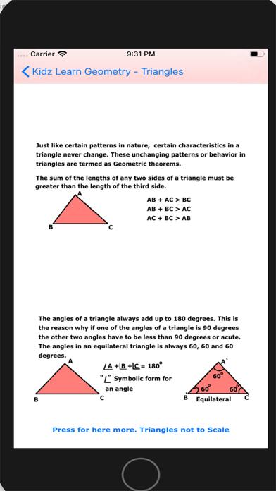 Triangles in Geometry screenshot 4