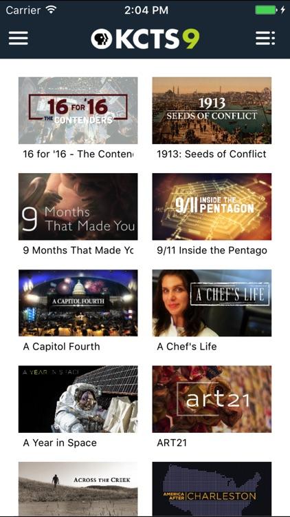 KCTS 9 App screenshot-4