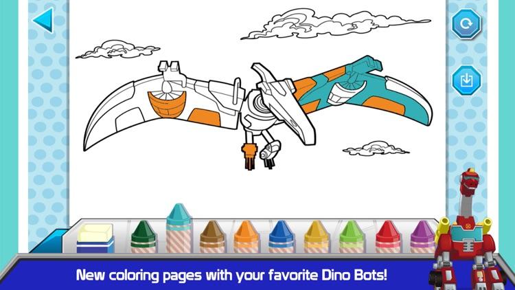 Transformers Rescue Bots: Dino screenshot-3
