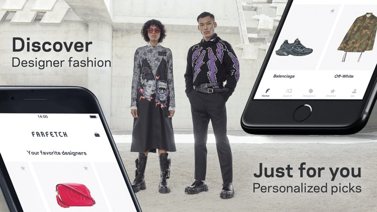 Farfetch - Designer Clothing screenshot-0