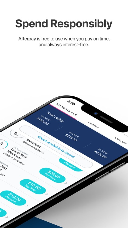Afterpay - Shop Now, Pay Later screenshot-3