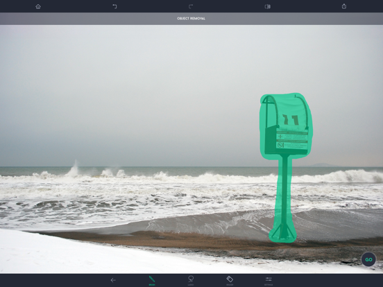 TouchRetouch for Tablet Screenshots
