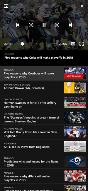 93f91114f43 NFL on the App Store