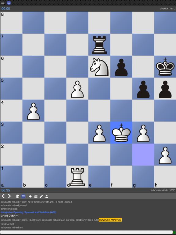 Ipad Screen Shot Chess Tempo: Chess tactics 4