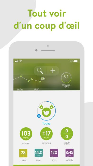 Screenshot #1 pour mySugr - App Carnet de Diabète