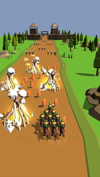 Horseman Rush 3D screenshot-3