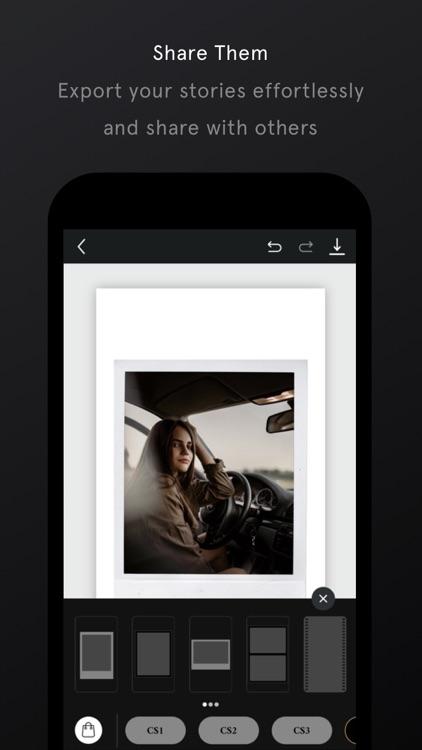 Unfold — Create Stories screenshot-6