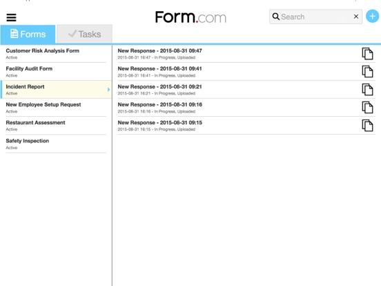 Form.com Mobile screenshot