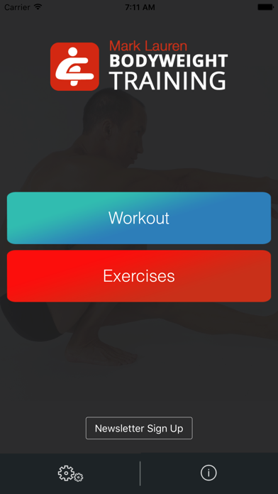 Screenshot for Bodyweight Training: Your Gym in Denmark App Store